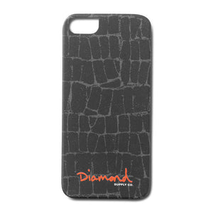 Diamond Supply Co. - Croc iPhone 5 Case - Black-Magic Toast