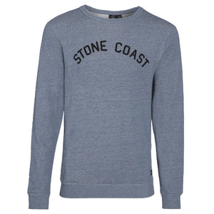 Volcom - Edwart C Fleece Sweatshirt - Grey Blue SALE-Magic Toast