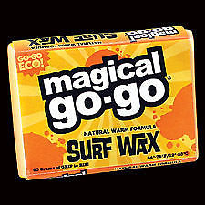 Eco Surf Wax All Natural Warm Water Magical Surfboard-Magic Toast