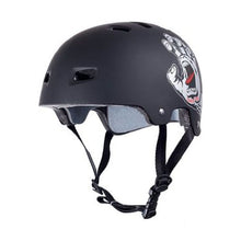 Bullet X Santa Cruz Screaming Hand Helmet Black Small/Medium Skateboarding-Magic Toast