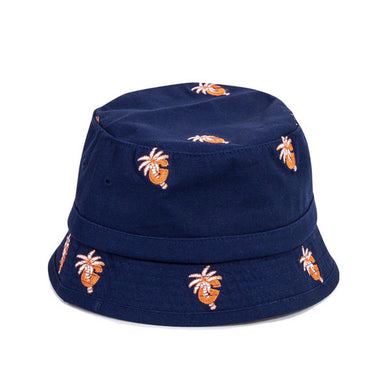 Grizzly - Palm G Bucket Hat - Navy-Magic Toast