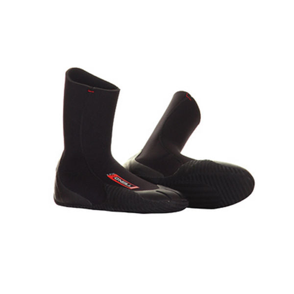 O'Neill - Epic 5mm Winter Wetsuit Boot - Black-Magic Toast