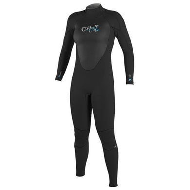 O'Neill - Womens Epic 5/4mm Winter Wetsuit - Black/Black-Magic Toast