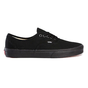 Vans - Authentic Shoe Black/Black Casual Skate Street School NEW-Magic Toast