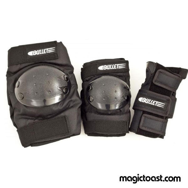 Bullet - Combo Standard Pad Set - Adult - Black-Magic Toast