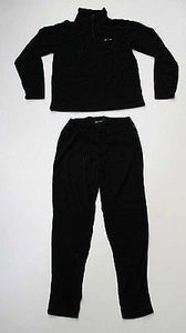 Mens Five Seasons 'Switch' Fleece Set - Snowboarding Thermals Black - Large-Magic Toast