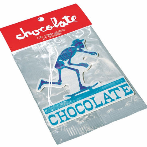 Chocolate Skateboards - El Chocolate - Air Freshener - Blue-Magic Toast