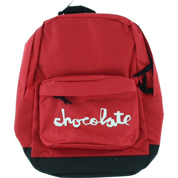 Chocolate Skateboards - Simple Backpack - Red-Magic Toast