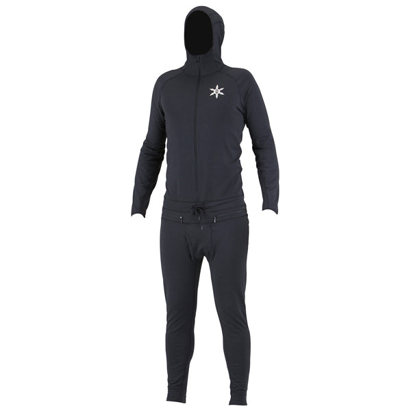 Airblaster - Ninja Suit Mens - Black Thermal Ski/Snowboard SALE-Magic Toast