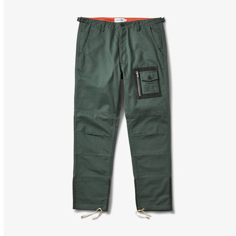 Diamond Supply -Bunker Herringbone Pants - Army SALE-Magic Toast