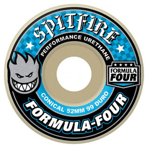 Spitfire - Formula Four Conical Full 99DU Blue - 52mm-Magic Toast