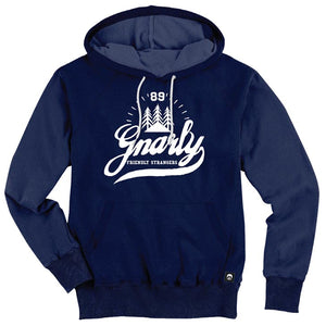 Gnarly Clothing Friendly Strangers Hoodie Navy SALE-Magic Toast