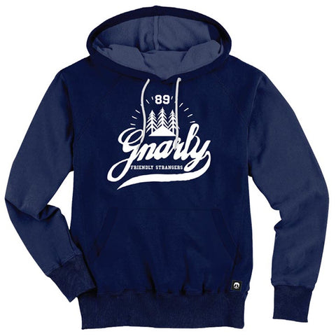 Gnarly Clothing - Friendly Strangers Hoodie - Navy SALE-Magic Toast