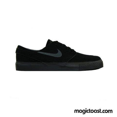Nike SB - Zoom Janoski Canvas Shoes - Black/Anthracite SALE-Magic Toast