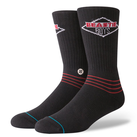 Stance - Foundation Socks - Beastie Boys License To Ill - Black-Magic Toast