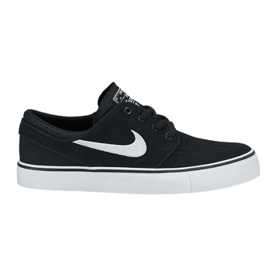 Nike SB - Kids Janoski Skate Shoes - Black/White-Magic Toast