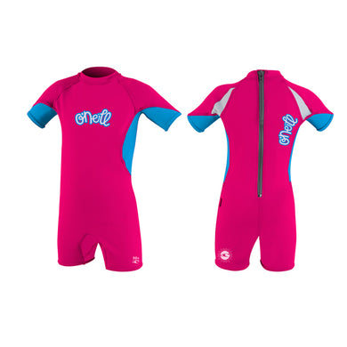 O'Neill - Infant Spring Shorty O'zone Rash Vest/Swimsuit - Watermelon/Tahiti-Magic Toast