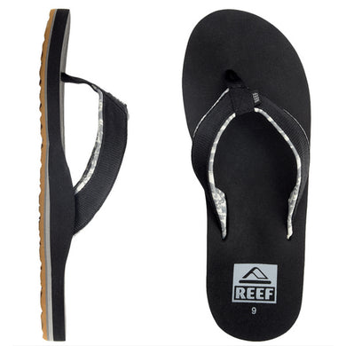 Reef - Ponto Prints Men's Sandals/Flip Flops - Black-Magic Toast