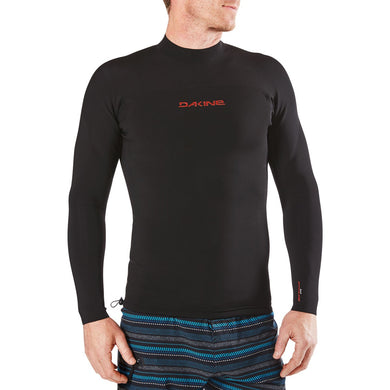 Dakine - Storm Snug Fit L/S Rashguard - Black-Magic Toast