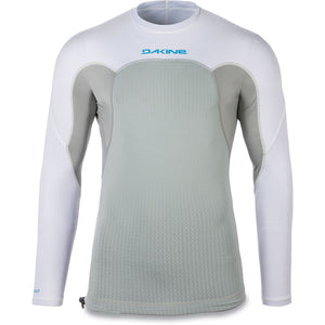 Dakine - Storm Snug Fit L/S Rashguard - White-Magic Toast