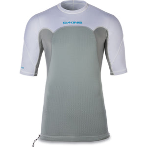 Dakine - Storm Snug Fit S/S Rashguard - White-Magic Toast