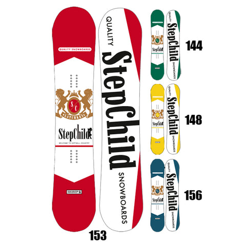 Stepchild Snowboards - 2013/14 Latchkey Regular Camber Snowboard - 148 SALE-Magic Toast
