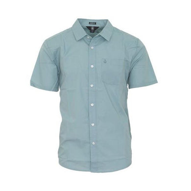Volcom - CJ Collins SS Shirt - Cool Blue SALE-Magic Toast