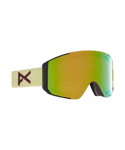 Anon - Sync Snowboard Goggles (with bonus lens) - Crazy Eyes Green/Perceive Variable Green NEW FOR 2021-Magic Toast