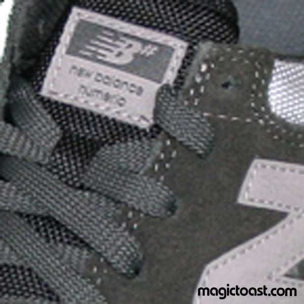New Balance Numeric - Allston 617 Shoes Dark Grey/Black Suede/Mesh SALE-Magic Toast