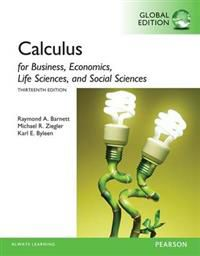 Calculus for Business, Economics, Life Sciences and Social Sciences, Global E…