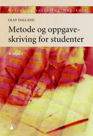 Metode og oppgaveskriving for studenter