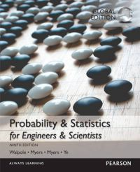 Probability & Statistics for Engineers & Scientists, Global Edition