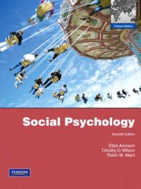 Social Psychology: Global Edition