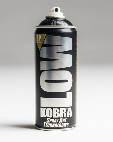 Kobra Low Pressure Black 400ml 6 Pack