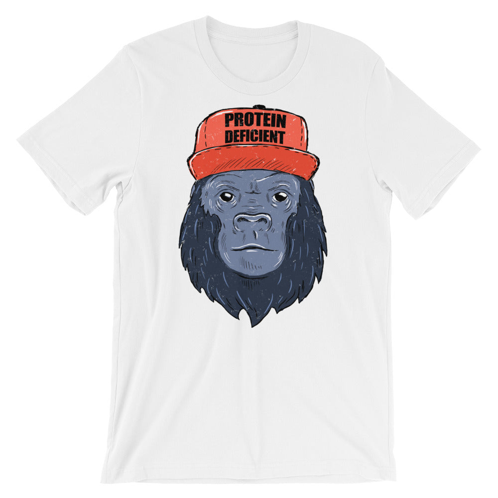 Protein Deficient Gorilla Mens T-Shirt
