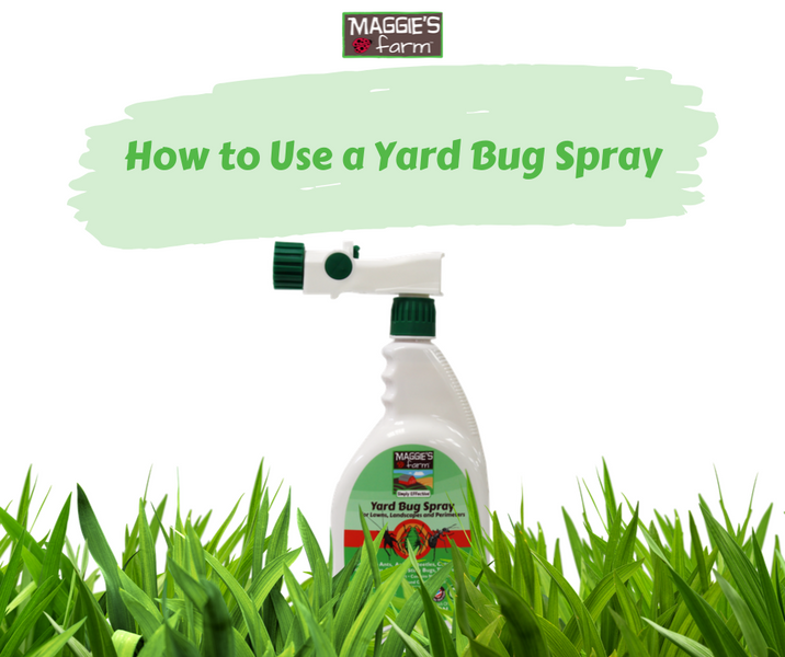 How to Use a Yard Bug Spray