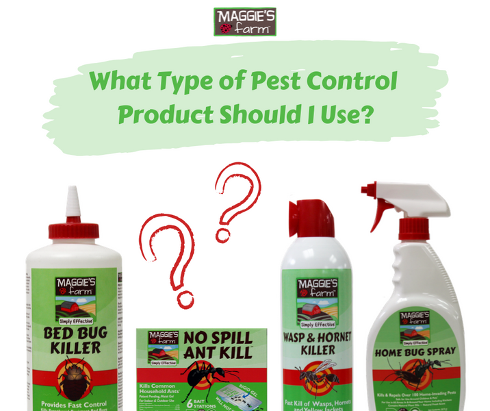 What Type of Pest Control Product Should I Use?