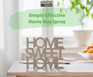 Simply Effective Home Bug Spray