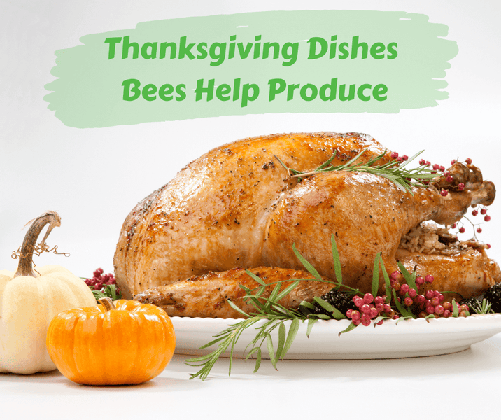 Thanksgiving Dishes Bees Help Produce
