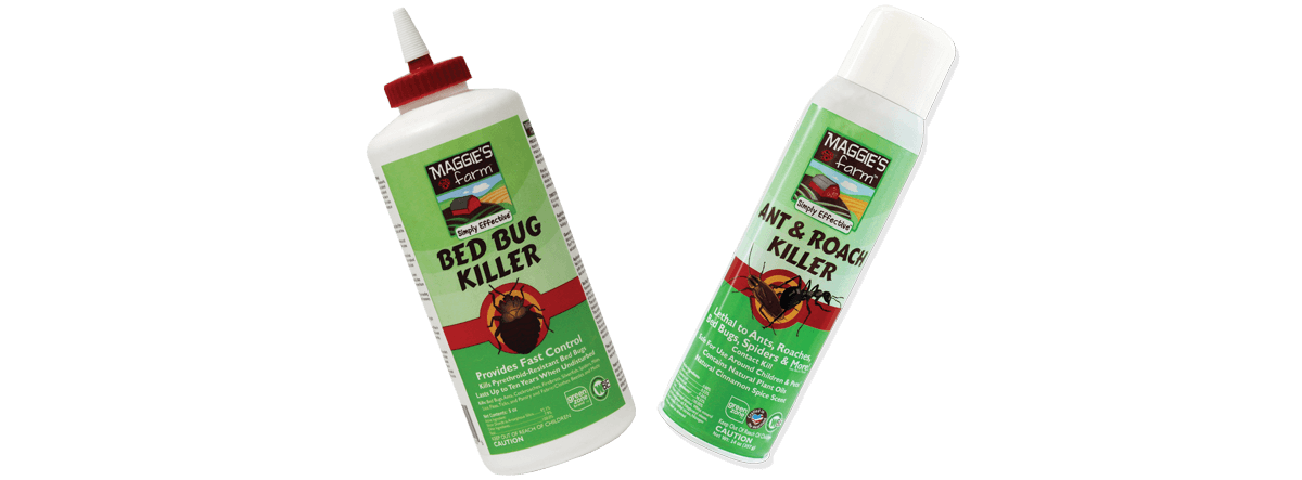 Maggie's Farm Products for Bed Bugs
