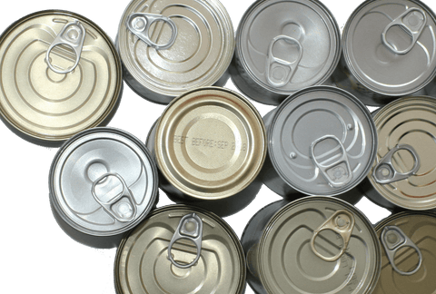Cans with expiration date