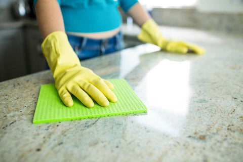 Cleaning counter