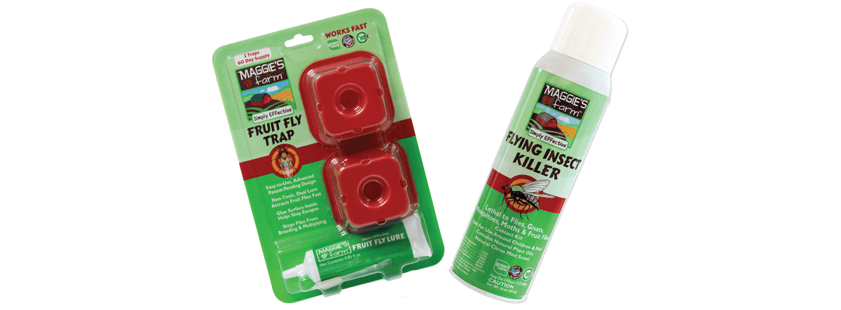 Maggie's Farm Products to Control Fruit Flies