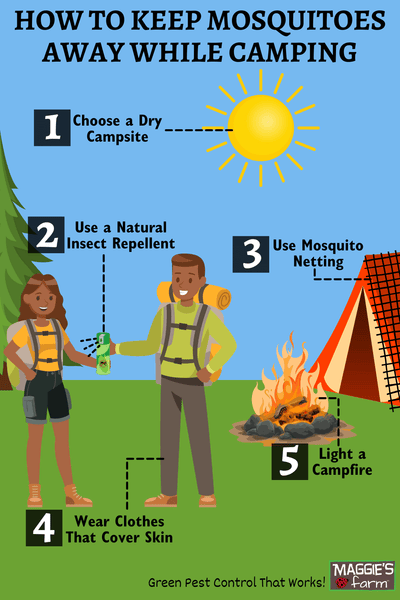 How to Keep Mosquitoes Away While Camping