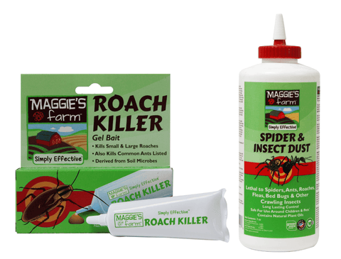 Roach Killer Bait and Spider & Insect Dust