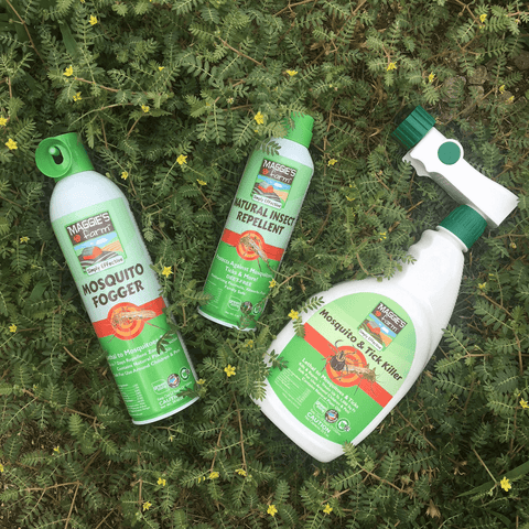 Maggie's Farm No Spill Ant Kill Maggie's Farm Natural Insect Repellent Maggie's Farm Mosquito Fogger Maggie's Farm Mosquito & Tick Killer  Earth Day
