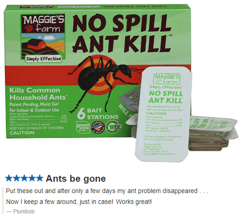 Maggie's Farm No Spill Ant Kill: No Spill Ant Kill Maggie's Farm No Spill Ant Kill Ants Ant bait