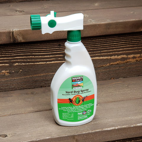 Maggie's Farm Simply Effective Yard Bug Spray