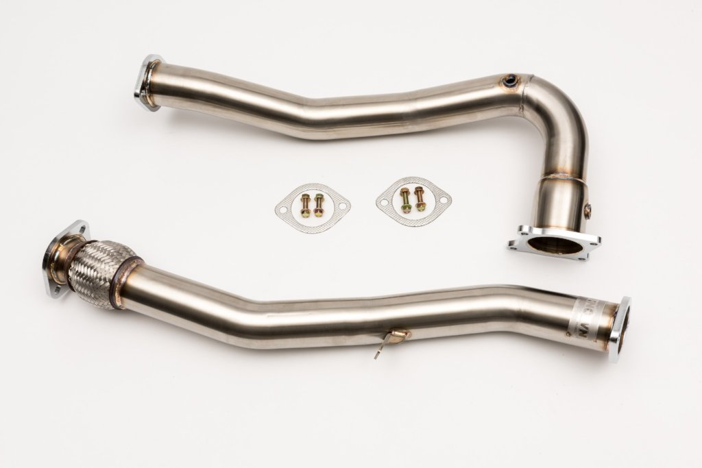 J-Pipe & Front Pipe Non Catted 2015 - 2018 WRX