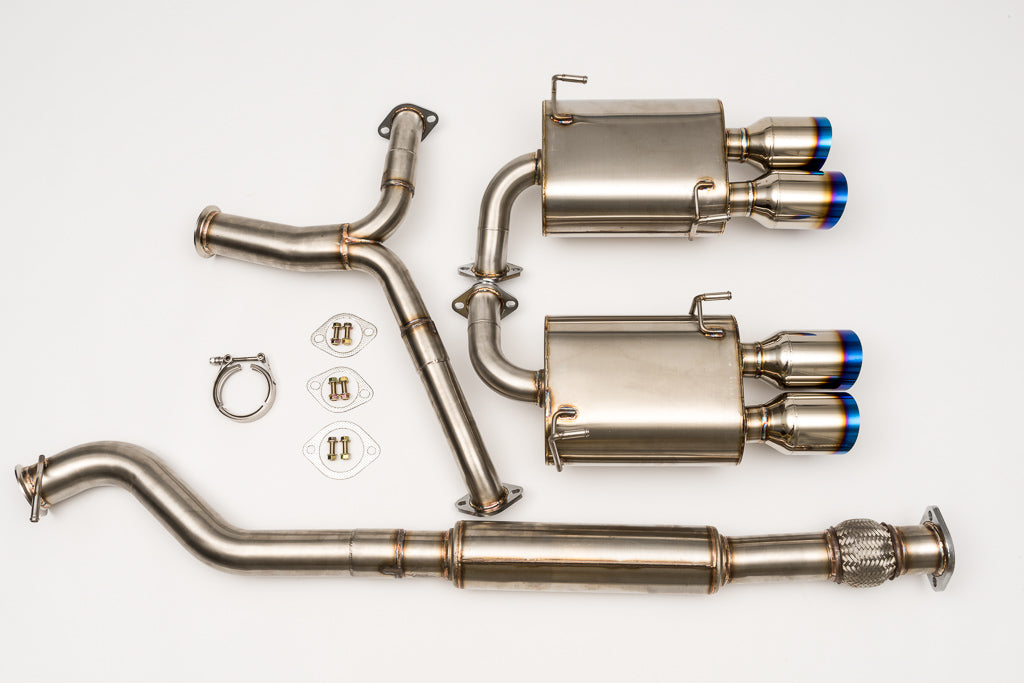 V1 Single Wall Burnt Tips 2011-2013 Subaru WRX/STi Sedan